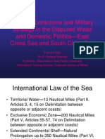 The Joint Exploration/Development Trap-South China Sea and East China Sea by Dr. Yoichiro Sato