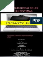Portafolio Digital de Los Siguientes Temas