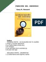 Renard, Gary R -La Desaparición del Universo