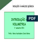 Introdução a volumetria