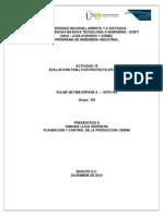 ACT 15 Evaluacion Proyecto