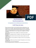 Ensinos de Lutero