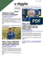 La Gazzetta Dello Sport Rosa Con Edizioni Locali 25 Ottobre 2016