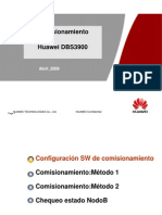 Huawei DBS3900_ Guia de Comisionamiento