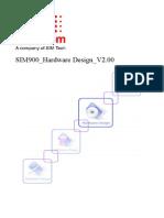 DOC SIM900 Hardware Design V2.00