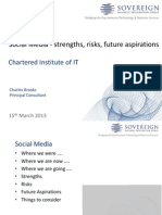 Social Media Strengths Risks Future Aspirations