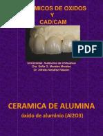Cerámicos dentales de óxidos y CAD/CAM