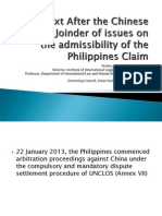 Examining the UNCLOS Dispute Settlement Procedure in the Settlement of the Scarborough Shoal Dispute