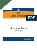 Economia+Como+Metodologia
