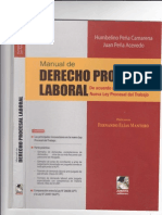 Manual- Procesal Laboral