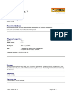 TDS - Jotun Thinner No. 7 - English (Uk) - Issued.26.11.2010