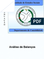 Analise de Balanco