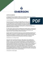 Sobre Emerson Historia