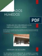 ACABADOS HUMEDOS