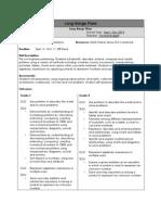 long range plan - unit overviews