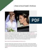 Kate Middleton Stuns in Royal Family