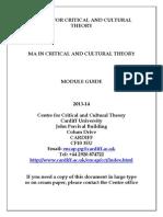 CCCT MA Module Guide 2013 14