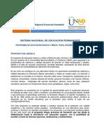 Modelo Pedagogico- Educacion Permanente