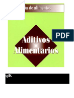 ADITIVOS ALIEMNTARIOS