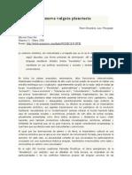 Bourdieu y Wacquant - Una Nueva Vulgata Planetaria