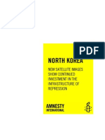 Amnesty International's report on North Korea