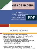 NORMAS ISO 9001 en La Produccion de Listones de Madra