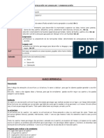PLANIFICACIÓN ESPECIAL DE 3 CLASES