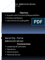 Guard Force Admin
