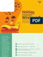 Holiday Planning with Windows 8