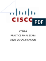 EWAN Practice Final Exam - CCNA Exploration Accessing the WAN (Versión 4.0) _ ccna4 Examen práctico final 100% practice final exam