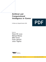 Artificial and Computational Intelligence in Games