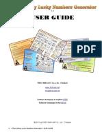 """Thai Lottery Numbers Generator"" User Guide"