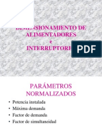 Dimensionamiento IE