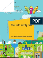 CE 1448a 3Y10 for Schools Penfriends Certificate P AMENDED