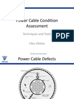 Power Cable Condition Assessment