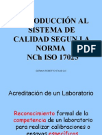 Introducción a la NCh-17025