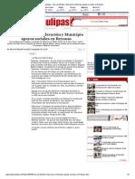 04-12-2013 'Acercan Estado, Federación y Municipio apoyos sociales en Reynosa'