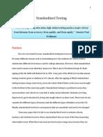 position proposal paper
