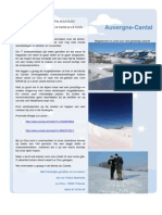 Wintersport Auvergne - Nieuwsbrief Le Clou Novembre 2013 SkiDhiver v1.
