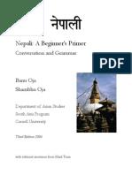 42.Nepali a Beginner's Primer Conversation and Grammar
