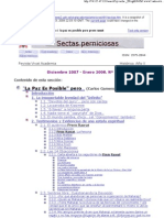 Sectas Perniciosas - La Paz Es Posible, Pero - Vivat Academia # 91 (Dic 07 - Ene 08) Carlos Gamero