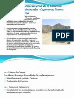 Rehabilitación Y Mejoramiento  De La Carretera Chongoyape - Llama