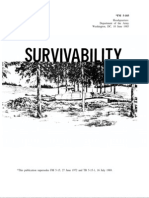 Survivability in Combat Conditions US ARMY