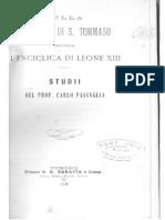 Carlo Passaglia Sulla Dottrina Di S. Tommaso_opt