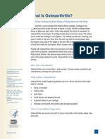 Osteoarthritis Ff