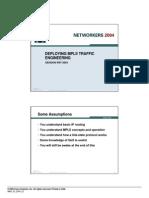 MPSL Traffic Engineering