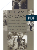 Duke University Press the Fame of Gawa, A Symbolic Study of Value Transformation in a Massim Society (1992) (No OCR)