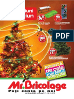 Mr.Bricolage - Catalog Craciun 2013