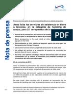 AENA Nota de Prensa