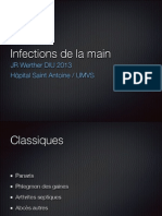 Infections de la main